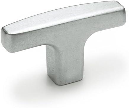 Innovative Components AN6C0750T721 2.50 T Knob/3//8-16 x .75 steel zinc stud black pp Pack of 10