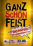 Ganz schön feist - Soest 2012 - Veranstaltungs-Poster A1