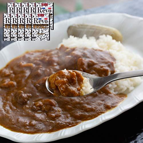 大阪 「洋食Revo」 和牛すじカレー(レトルト・10箱)