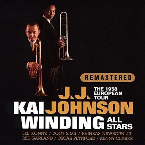 J.J. Johnson & Kai Winding feat. Lee Konitz, Zoot Sims, Phineas Newborn Jr., Red Garland, Oscar Pettiford & Kenny Clarke