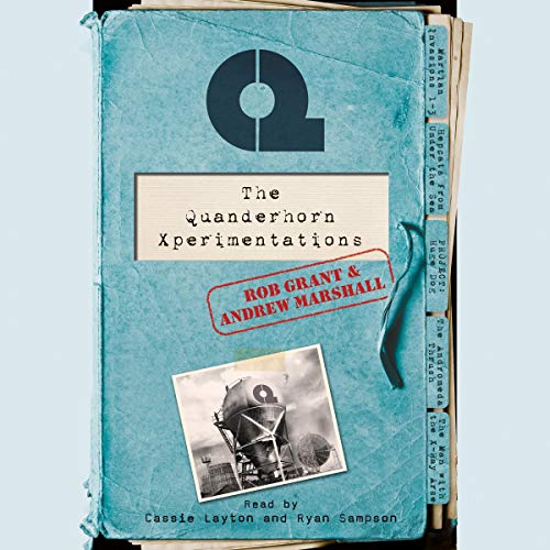 The Quanderhorn Xperimentations audiobook cover art