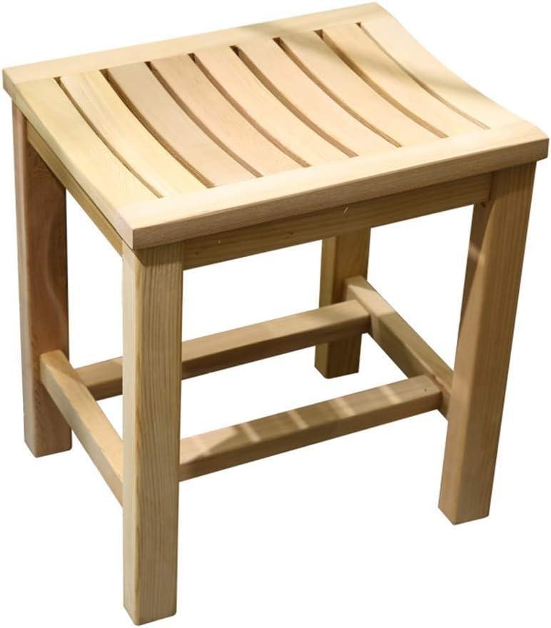 DIAOD Bathroom Stool Solid Wood Stool Elderly Pregnant Women Sho