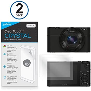 6x Clear LCD Screen Guard protector de táctil for Sony Cyber-shot dsc-hx80