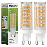 MENGS 2 Pack de Bombilla LED G9 12W Lámpara LED Bombilla AC 220-240V, 720LM Equivalente a 95W Con Ceramics + PC (Blanco Cálido)