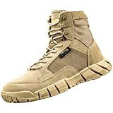ANTARCTICA Men's Lightweight Military Boots 6 Inches Tactical Boots for Hiking,Hunting,Desert,Combat