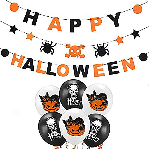 Guirnalda decorativa de Halloween –16 cm x 16 cm