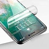 WALCD Protector de Pantalla de Cristal Curvado 3D no Templado Protector de Pantalla delteléfono, para iPhone 11 Pro MAX XS XR X 8 7 6 6S Plus, para Huawei P30 Mate 20 Pro