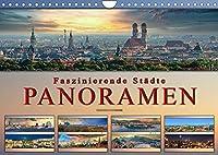 Faszinierende Staedte, Panoramen (Wandkalender 2022 DIN A4 quer): Eindrucksvolle Staedte der Welt in aussergewoehnlichen Panoramen. (Monatskalender, 14 Seiten )