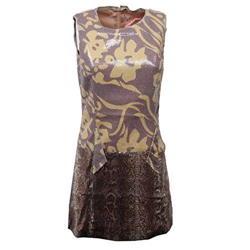 Custo D6184 Vestito Donna Barcelona Slim FIT Paillettes Dress Woman [1/S]