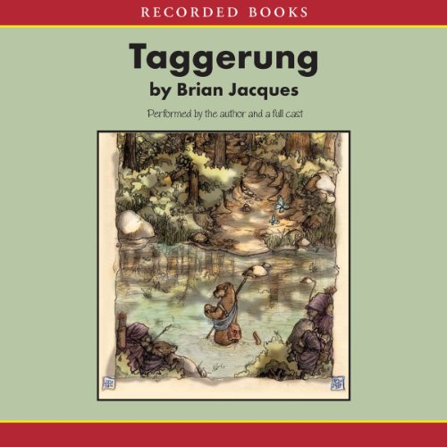 The Taggerung audiobook cover art