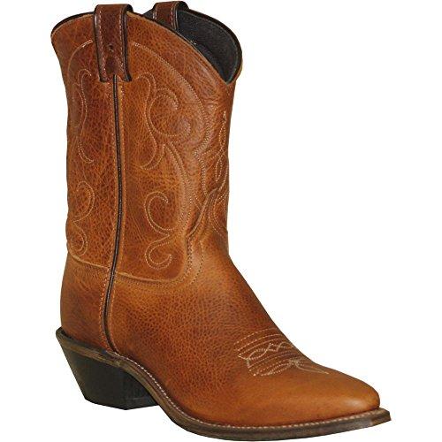 [Abilene] Women 's Boot Soft Textured Short Western Snip Toe–9151 カラー: ブラウン