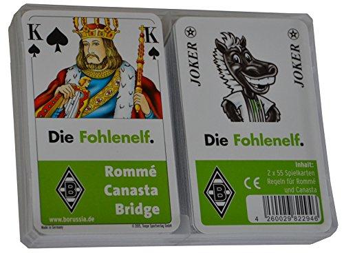 Teepe 29460 - Borussia Mönchengladbach Rommé