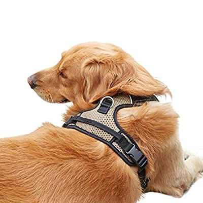 Front Range Dog Harness No-Pull Vest Harness Adjustable, Reflective Material Vest Straps , Breathable And Comfortable Dog Harness