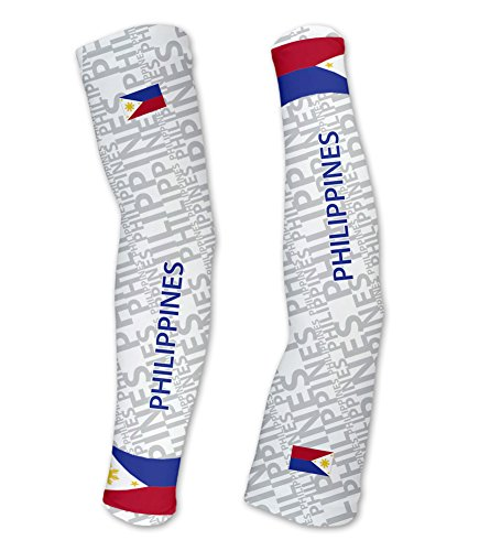 Philippines ScudoPro Compression Arm Sleeves UV Protection Unisex - Walking - Cycling - Running - Golf - Baseball - Basketball - Size L