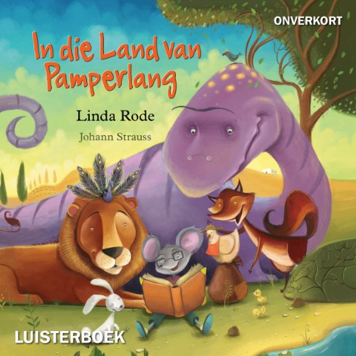 In die land van pamperlang audiobook cover art