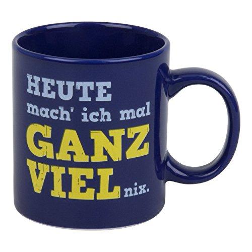 Waechtersbach Henkelbecher Heute Mach Ich Ganz Viel Nix, Kaffeebecher, Becher, Tasse, 330ml, 4105021117