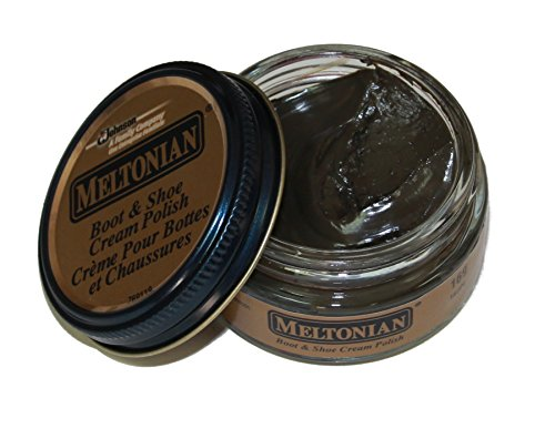 Meltonian Shoe Cream Leather Boot Polish 35 Colors 1.55 oz Jar (#169 Taupe)