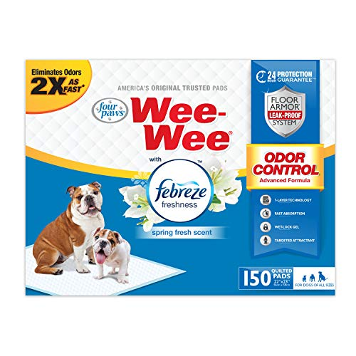 four paws wee wee pads 150 count
