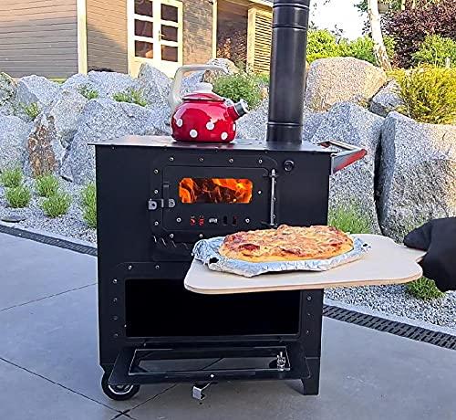Outdoor Küchenofen Garten-Herd Gartenküche ELISE Pizzaofen Zeltofen