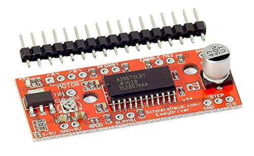 MissBirdler EasyDriver V4.4 A3967 Stepper Motor Schrittmotor Shield für Arduino Raspberry Pi