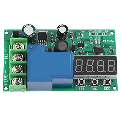 Ginorgee Tablero de protección - Tablero de protección de Carga de batería Módulo de Arranque/Parada automático para baterías de Plomo de 12 V 24 V 48 V