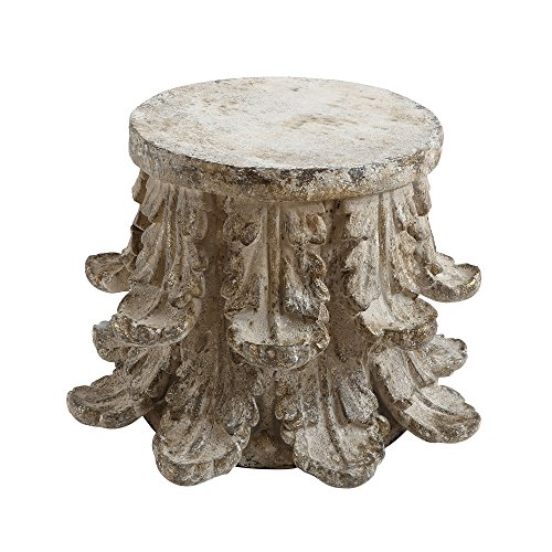 Bloomingville Table basse, Chateau, Gris, Polyester