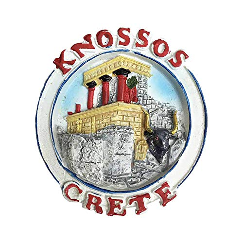 3D Knossos Crete Greece Refrigerator Magnet Tourist Souvenirs Stickers,Home & Kitchen Decoration Greece Fridge Magnet from China