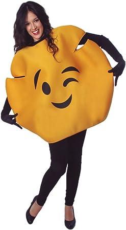 Eurocarnavales Cs925816 Costume Emoticone Clin D Oeil Taille M Amazon Fr Jeux Et Jouets