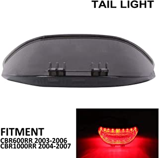 Fireblade Krator Smoke LED Tail Light Integrated with Turn Signals For 2004 Honda CBR 1000RR
