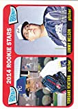 2014 TOPPS HERITAGE YORDANO VENTURA JIMMY NELSON RC ROOKIE CARD. rookie card picture