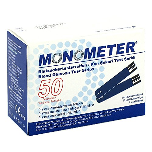 Monometer Blutzucker-test 2X25 stk