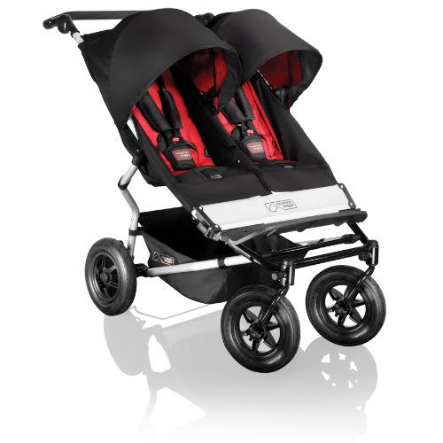 Mountain Buggy Duet - Silla de paseo doble, color rojo