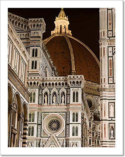 Barewalls Florence Cathedral, Florence, Italy Paper Print Wall Art (10in. x 8in.)