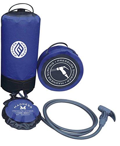 Madness Unisex Druck 10–15L Portable Dusche, Blau, One Size