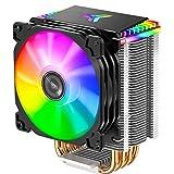 Jonsbo - CR-1400 ARGB 92mm Ventilador de CPU RGB para PC para CPU Intel y AMD Enfriamiento Procesadores eficientes, alto potencial de enfriamiento y diseño elegante