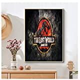 GIRDSS Leinwand Poster Seidenstoff HD Poster Jurassic Park