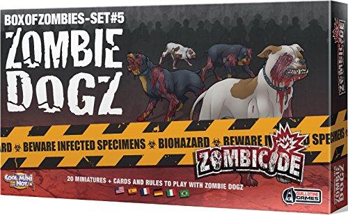 Zombicide - Set di 5 Cani Zombie