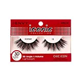 i Envy by Kiss iconic 3D Angle & Volume Lashes CHIC ICON 13 (6 Pack)