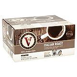 Italian Roast for K-Cup Keurig 2.0 Brewers, Victor Allen's Coffee Dark Roast Single Serve Coffee Pods, 80 Count