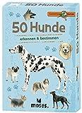 moses. 9769 Expedition Natur 50 Hunde | Bestimmungskarten im Set | Mit spannenden Quizfragen