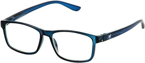 Bunny Eyez Jacob Wearable, Tilt-able, Flip-able Guyz Reading Glasses - Deep Sea Blue (+2.50)