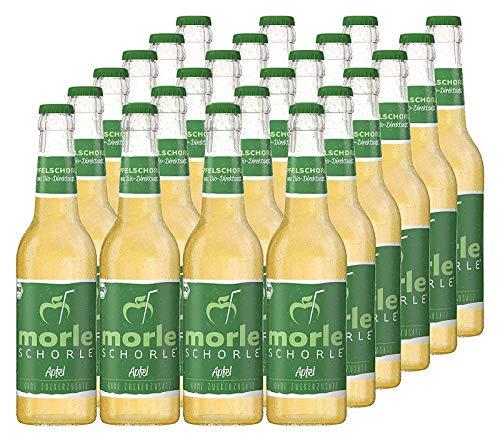 Elbler Morleschorle, Appelspritzer, 24 x 0,33 l, Bio Appelspritzer, Gemaakt van Bio Fruit, Direct Sap Zonder Toegevoegde…