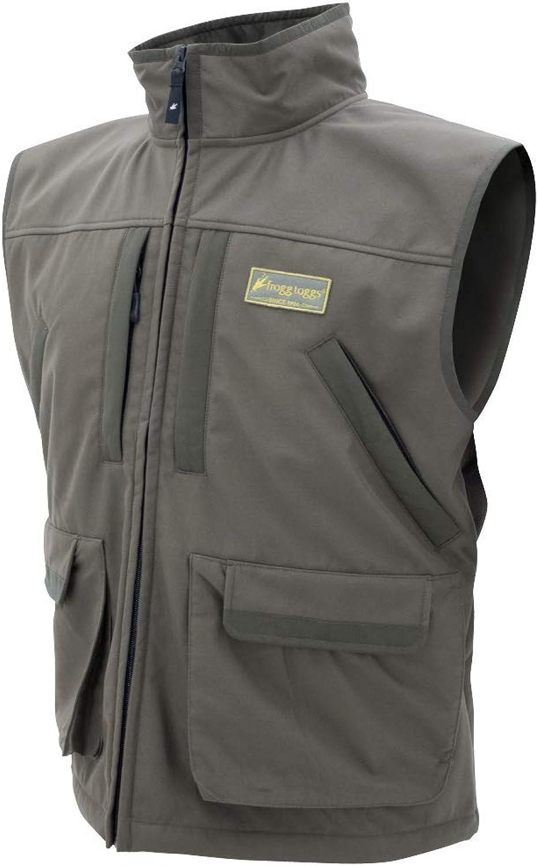 Frogg Toggs Frogg Toggs Pilot Fleece Vest, Brown, Size XXX-Large Pilot Fleece Vest, Brown, 3X-Large