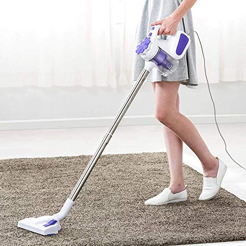 Buy Discount WUAZ Vacuum Cleaner,2 in 1 Portable Vacuum Cleaner Corded 600W Stick Bagless Washable H...