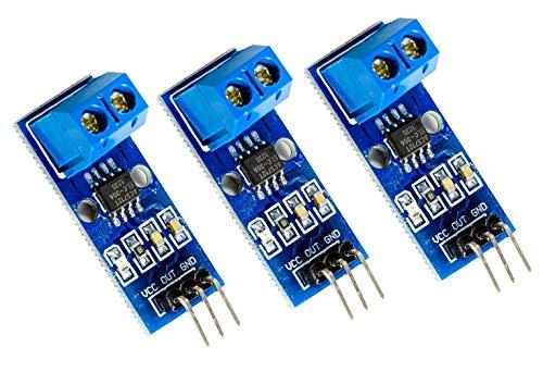 MissBirdler 3 Stück Stromsensor Modul ACS712 bis 5A ACS712 5A für Arduino Raspberry pi NEU