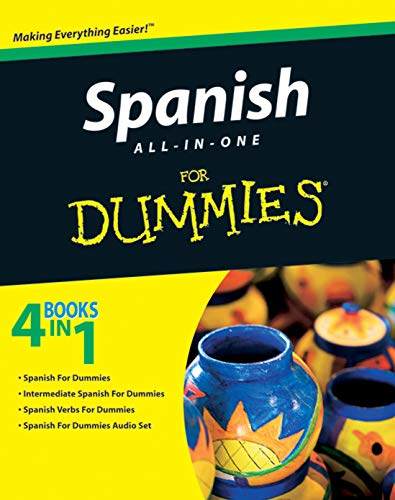 Compare Textbook Prices for Spanish All-in-One For Dummies 1 Edition ISBN 9780470462447 by Consumer Dummies