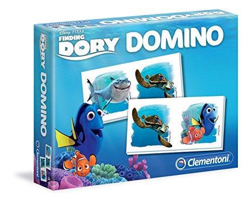 Clementoni - 13379-Domino Dory-Jeu éducatif