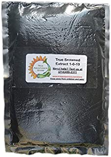 TrueNute Seaweed Extract Powder for Aquaponics, Hydroponics, Soil and Foliar Spray. for Plants, Stronger Than Liquid Soluble,Spray Plants, (16 Ounces)