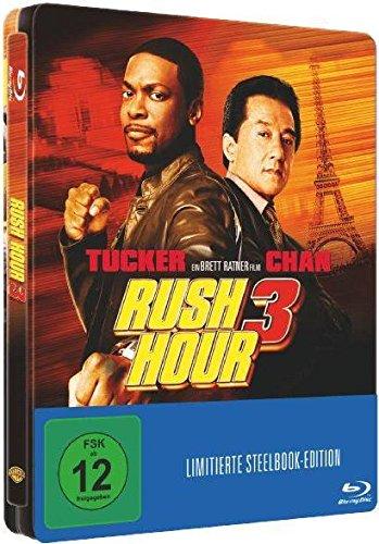 RUSH HOUR 3 (Blu-ray Disc) Steelbook