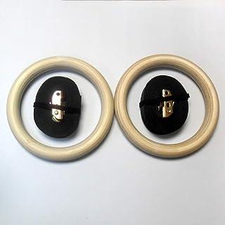 Amazon.es: anillas gimnasia madera